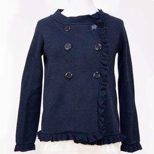 J.Crew Women's Navy Blue Jacket Blazer Cardigan